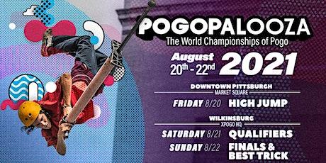 Pogopalooza 2021: The World Championships of Pogo tickets
