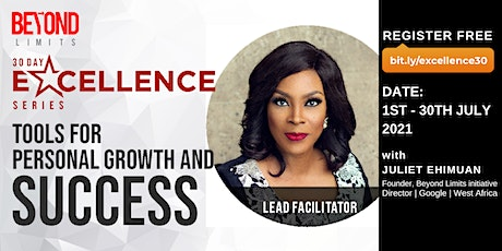 30 Day Excellence Series with Juliet Ehimuan tickets