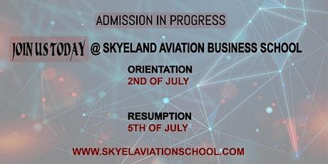 Skyeland Aviation Business School Orientation Day tickets