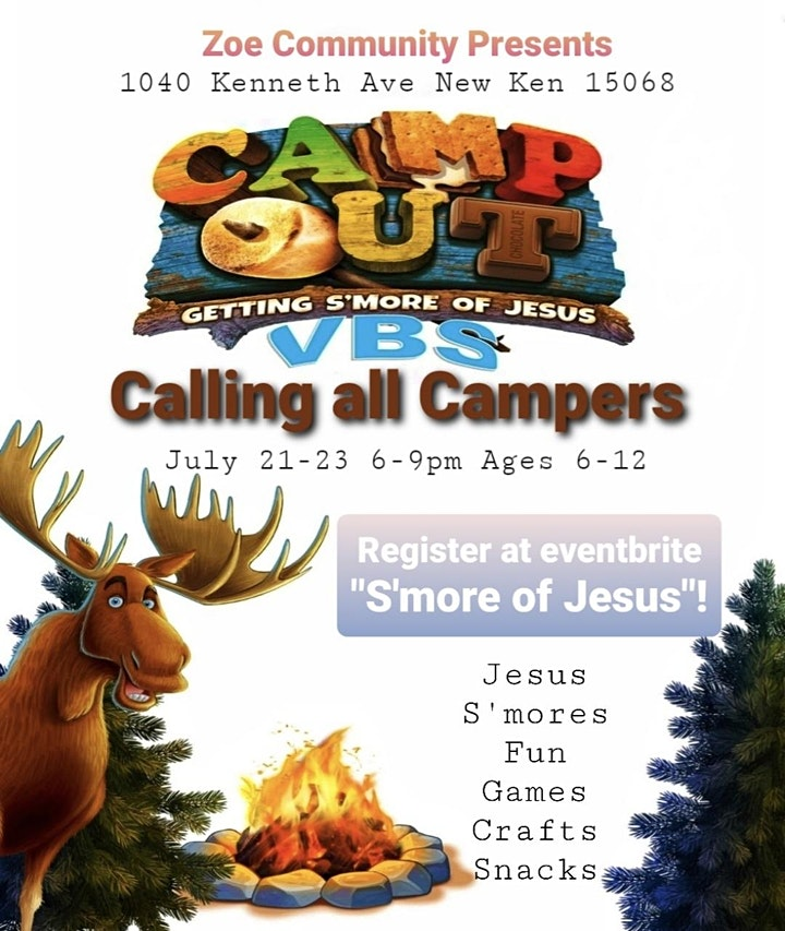 S'More of Jesus VBS image