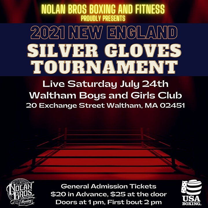 New England Silver Gloves 2021 image