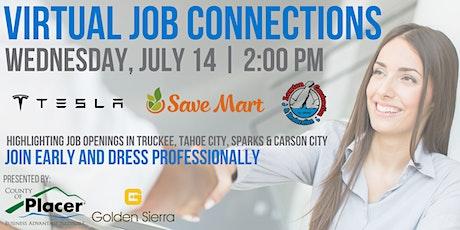 Job Connections - Save Mart | Tesla | Lawton Construction tickets