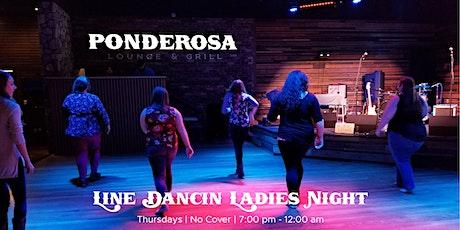 Line Dancin' Ladies Night tickets