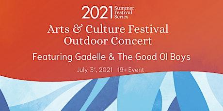 Three Rivers Arts & Culture Festival Outdoor Concert tickets