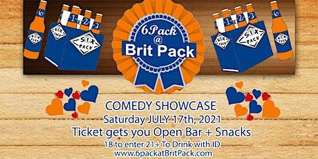 FREE DRINKS & OPEN BAR Comedy showcase tickets