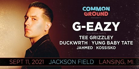 Common Ground presents G-Eazy tickets