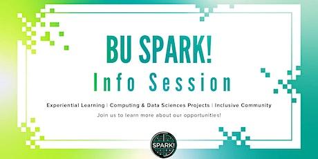 Boston University Spark! Info Session tickets
