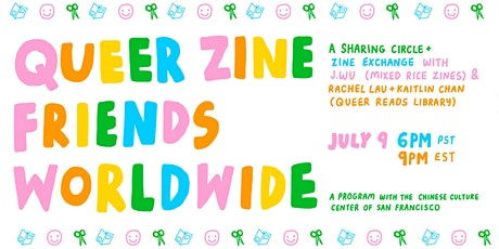Queer Zine Friends Worldwide: A Sharing Circle tickets