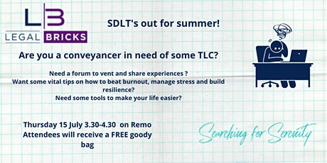 SDLT's out for summer - an informative and fun session for conveyancers tickets