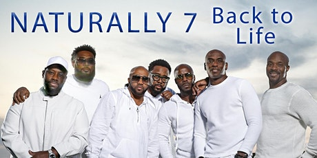 Naturally 7 - BACK TO LIFE - Livestream Concert USA Only Tickets