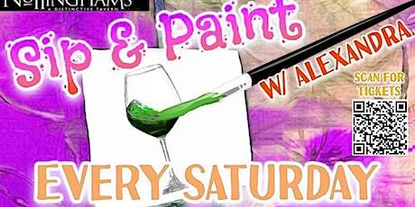 Sip n Paint! tickets