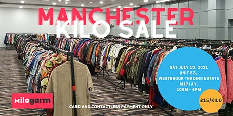 Manchester  Warehouse Kilo Sale - By Kilogarm tickets