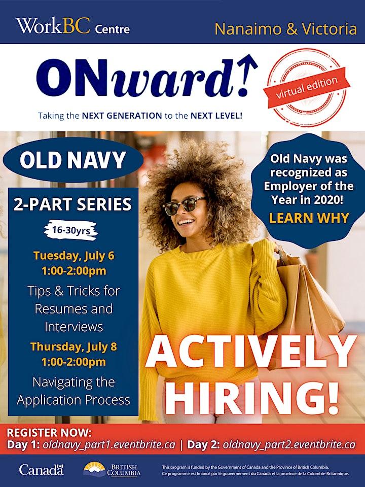 Old Navy & WorkBC (Part 1) image
