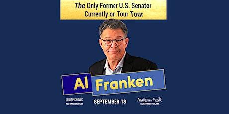 Al Franken: The Only Former U.S. Senator Currently on Tour Tour tickets