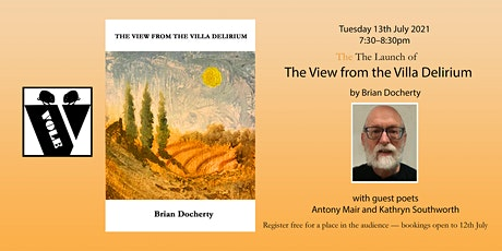 VOLE BOOK LAUNCH: 'The View from the Villa Delirium' by Brian Docherty billets