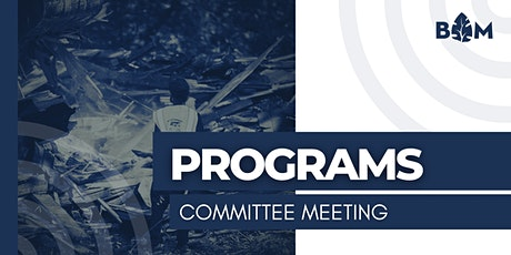 BAM Programs Committee Meeting tickets