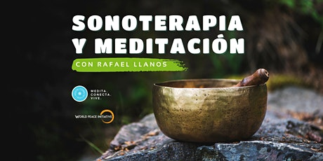 Sonoterapia y Meditación - Junio entradas
