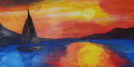 Virtual Painting Class - Sunset sighting tickets