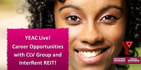 YMCA-YEAC Live! - Career Opportunities with CLV Group and InterRent REIT! tickets