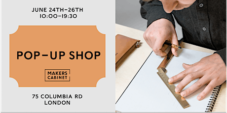 Makers Cabinet Pop-Up tickets