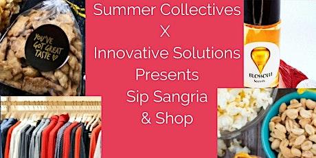 Sip Sangria &  Shop tickets