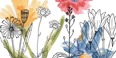 Botanical Line Drawing Workshop tickets