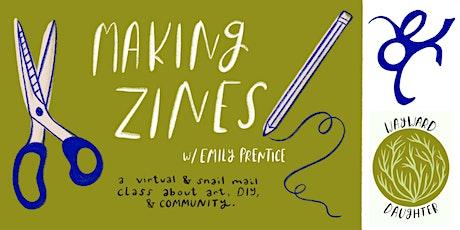 Making Zines: Virtual Workshop tickets
