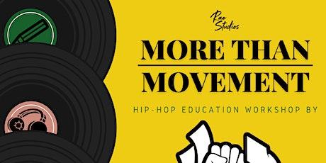 Hip Hop Education Workshop by HipHopForChange | Rae Studios tickets