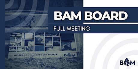 General Board Meeting tickets