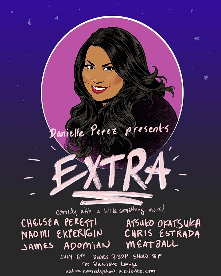 EXTRA | comedy show with a little something more! image