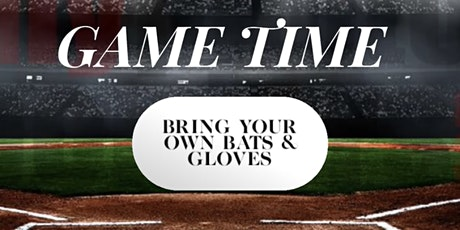 Let's Talk About It on the Field: Bring Your Own Bats and Gloves ! tickets