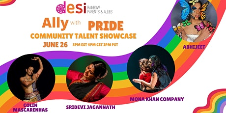 Desi Rainbow Community Talent Showcase tickets