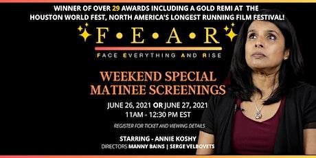 MATINEE MOVIE SCREENING - FEAR tickets