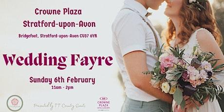 Crowne Plaza Stratford-upon-Avon Wedding Fayre tickets