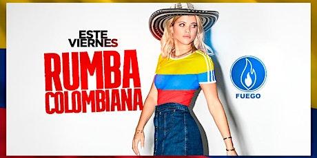 Viernes de Rumba Colombiana @ Club Fuego - Free Guest List tickets