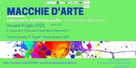 MACCHIE D'ARTE | LABORATORIO ARTISTICO tickets