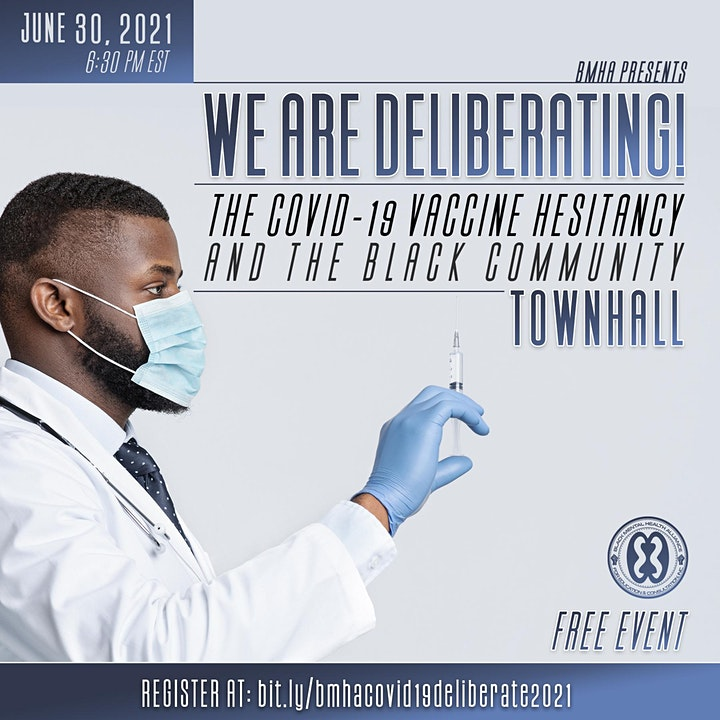We are deliberating! The COVID-19 Vaccine Hesitancy and the Black Community image