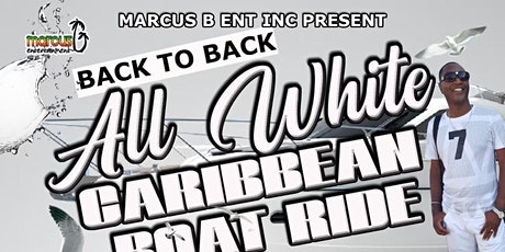 All White Caribbean Boat Ride tickets