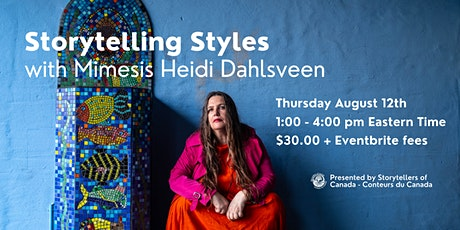 Storytelling Styles with Mimesis Heidi Dahlsveen tickets