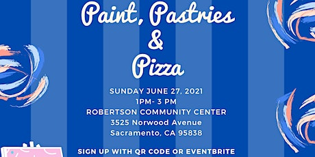 Paint, Pastries & Pizza tickets