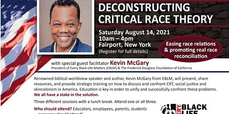 Deconstructing CRT (Critical Race Theory) with Kevin McGary tickets
