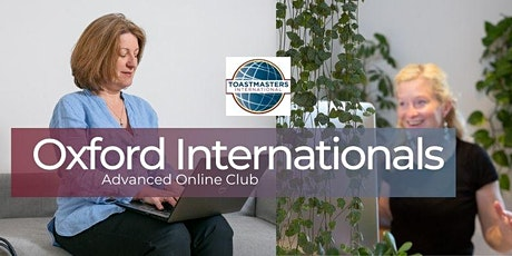 Oxford Internationals Club meeting (Toastmasters only) tickets