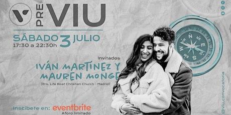 PRE VIU JULIO - IAM entradas