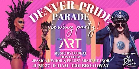 Denver PRIDE Parade Viewing Party tickets