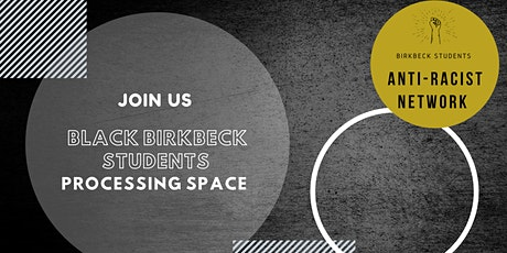 Student-led processing group for Black students tickets