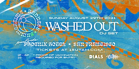 WASHED OUT - DJ Set - Poolside Party tickets