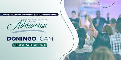Servicio de Adoración Caguas Campus - 10am 27 de junio, 2021 entradas