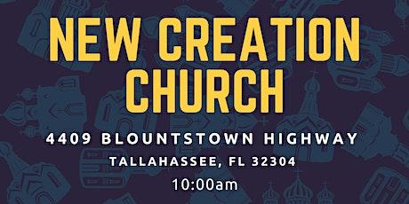 New Creation Church Service tickets
