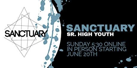 Sanctuary LIVE - June 27th, 2021 tickets