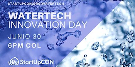 WATER-TECH INNOVATION  Tecnología e innovación para los desafíos del agua entradas